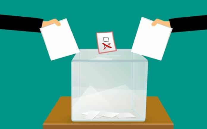 hlasování, volby, vote, blockchain