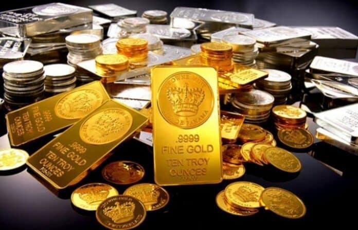 zlato stříbro