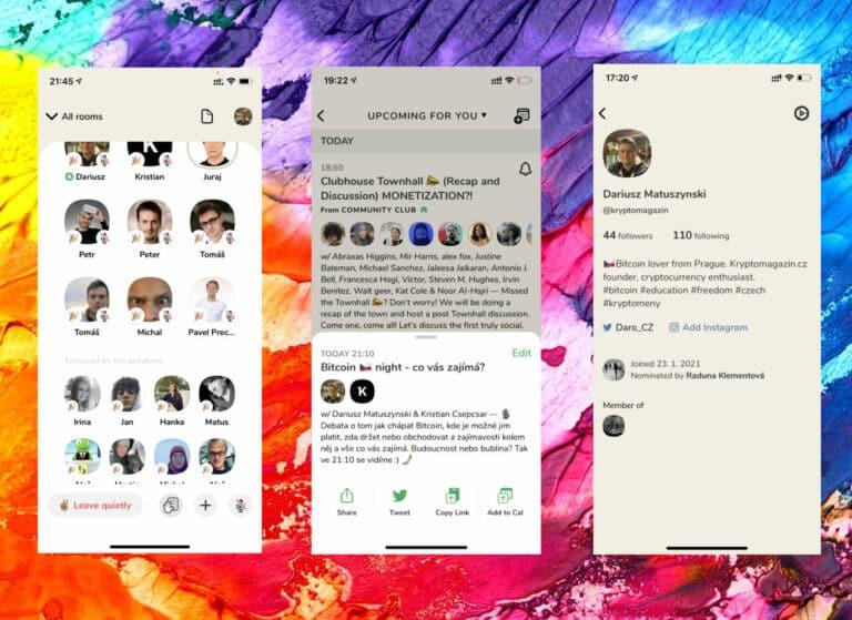 Clubhouse je nová sociální síť, kde místo psaní mluvíte – tato platforma pro iOS láme rekordy