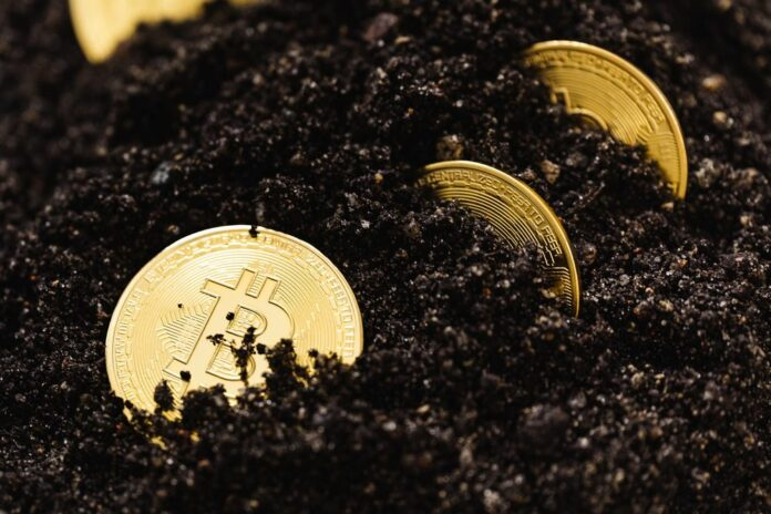 bitcoin těžba mining