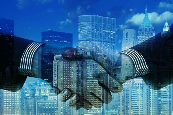 hands ruce spolupráce obchod uzavření