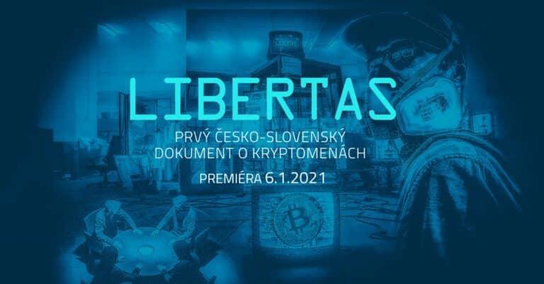 Premiéra LIBERTAS – nejlepší CZ-SK film o kryptoměnách již dnes ve 20:00, lístek ještě stihnete