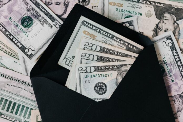 penize dolar finance money