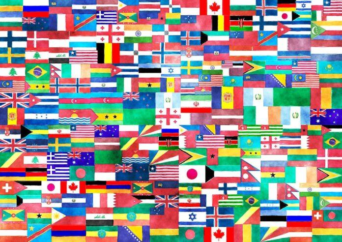 vlajky flags svět