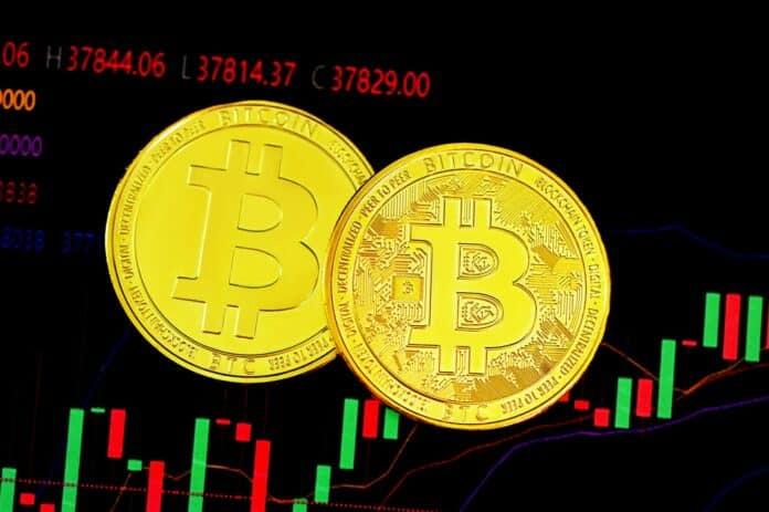 bitcoin, vermeulen BTC cena usd se