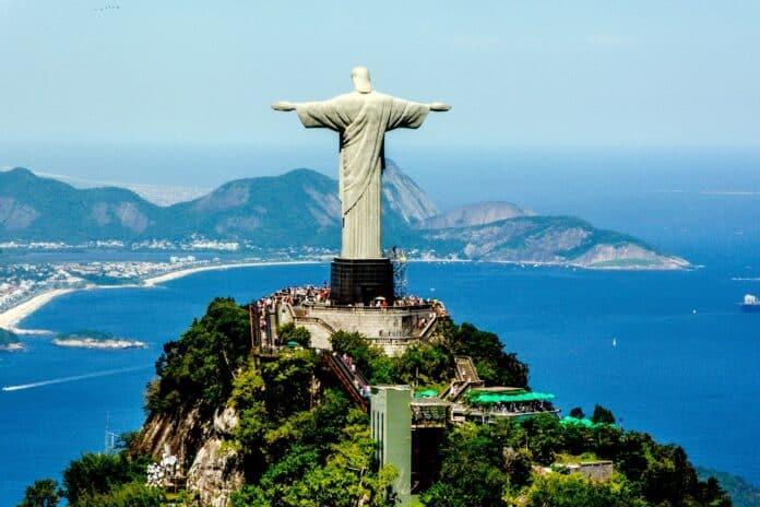 brazilie Rio de Janeiro socha