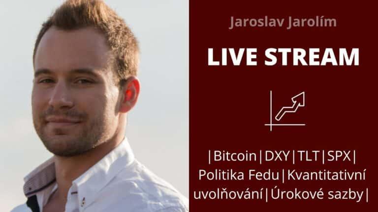 Bitcoin live stream – jaký může mít na trhy vliv včerejší zasedání Fedu?