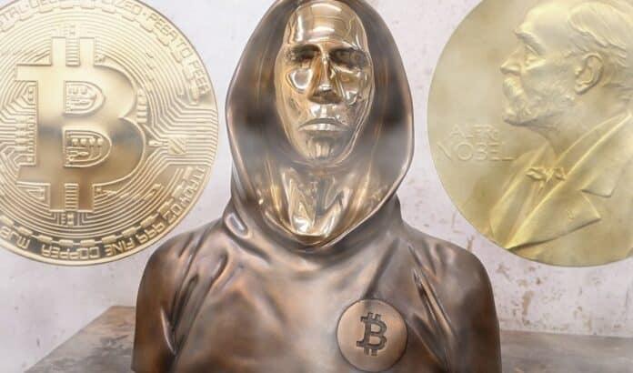 nobel nakamoto bitcoin cena