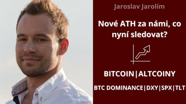 Bitcoin live stream – nové ATH za námi, co nyní sledovat?